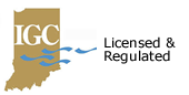 Indiana Gaming Commission Licensed & Regulated