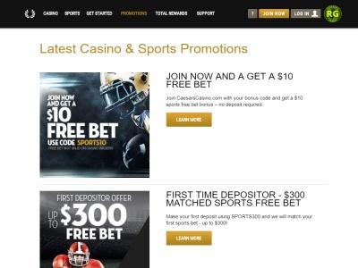 Sports Betting Caesars Casino
