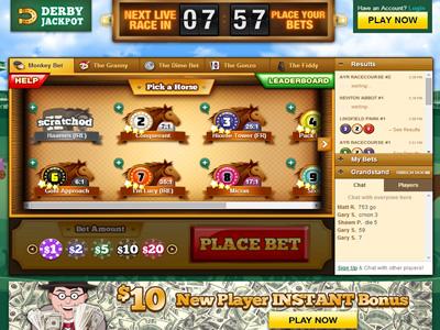 Horse Betting DerbyJackpot