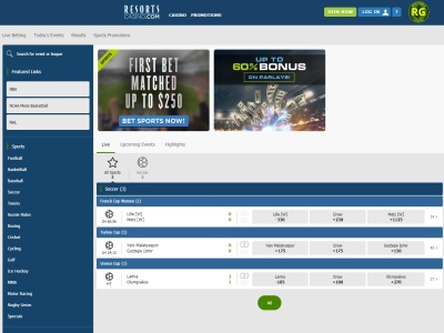 Sports Betting Resorts Casino
