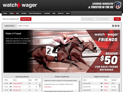 Horse Betting WatchandWager